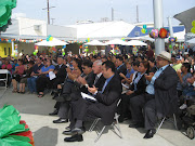 Reyes Joins Community at Jose Elementary School Grand Opening Ceremony