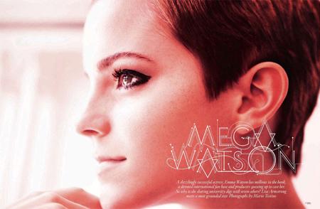 emma watson vogue. house Emma Watson covers the