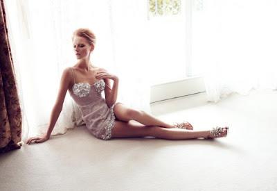 Wiola Kowal para Harper's Bazaar