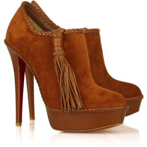 Botines de ensueño, Lace-up Wedge