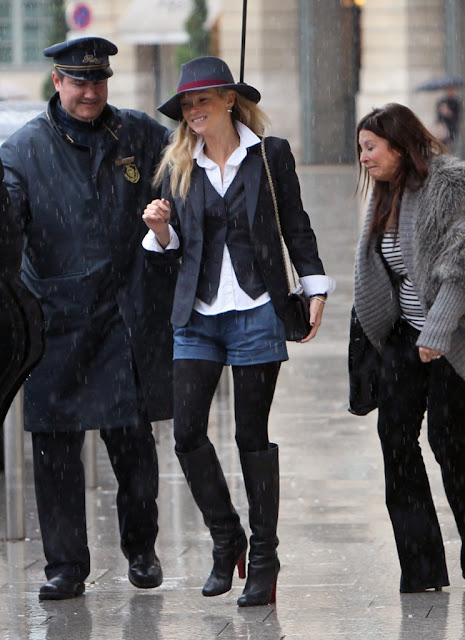Kate Moss en Paris