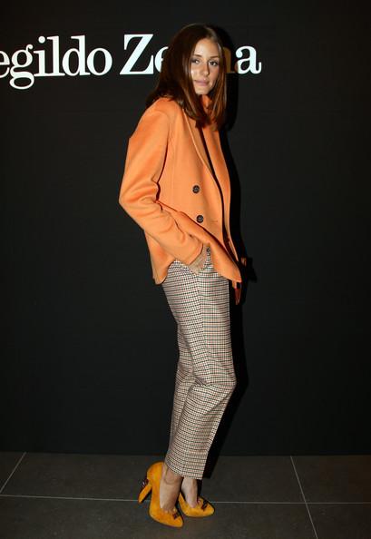 Olivia Palermo, Ermenegildo Zegna Milan Fashion Week