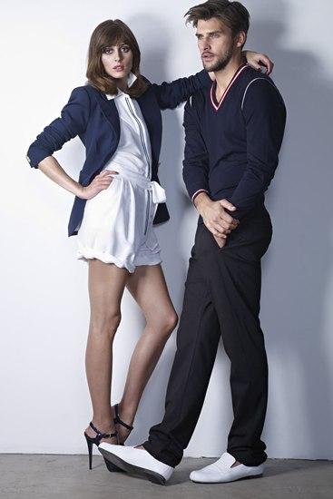 Olivia Palermo y Johannes Hubel para Apropos PV 2011
