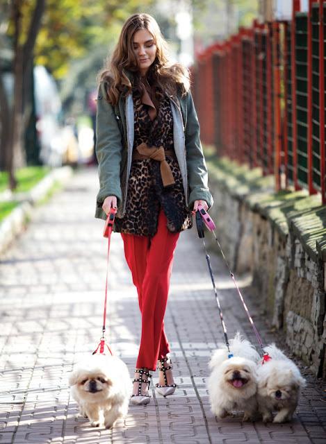 Kira Mazura para Elle Turkía Febero 2011