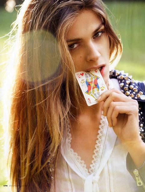 Elle Italia: Elisa Sednaoui en Easy Rock