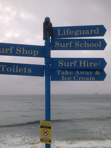 Sennen beach this way