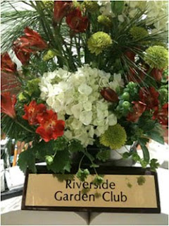 Flowers from Riverside Garden Club