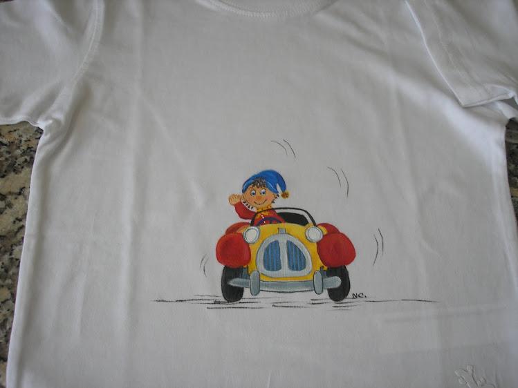 Noddy com carro