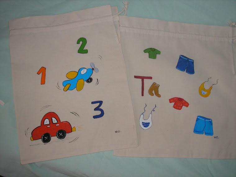 Mais sacos para criança