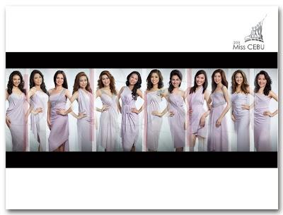 Miss Cebu 2011 Candidates