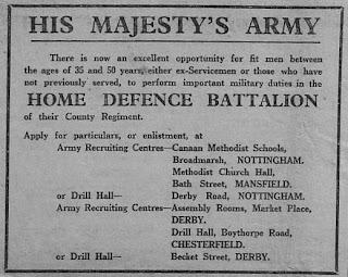 Second World War, World War Two, World War 2, WWII, WW2, History, Home Front, Buxton, Home defence batallion