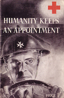 Humanity keeps an appointment, Red Cross, wounded, WW2, WWII, Second world war, POW, prisoners of war