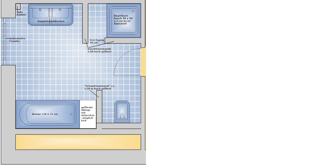 Begehbare Dusche Spritzwasser : Blog zum Hausbau Wir bauen ein EcoStar3 von Heinz von Heid
