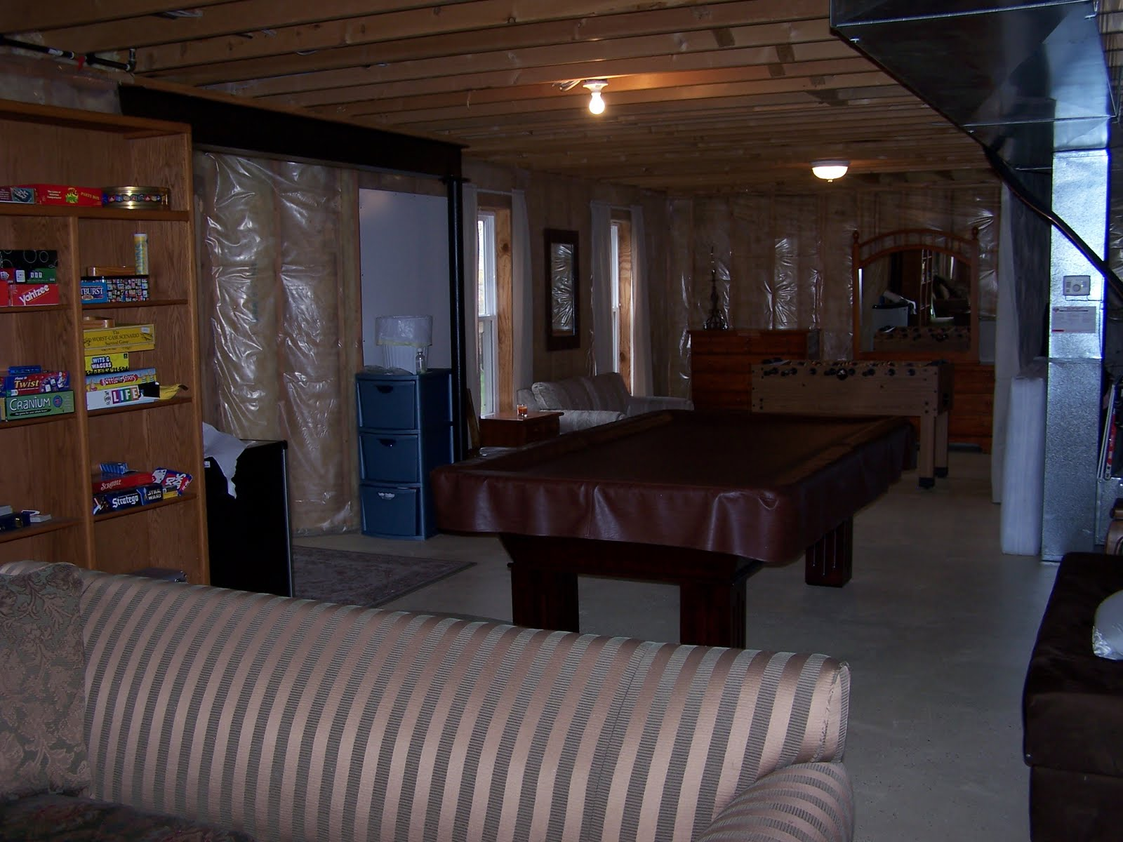 little funky in your basement you need to call mold mildew removal