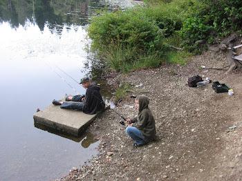 Fishing at Lake Howell