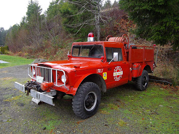 Tahuya fire truck