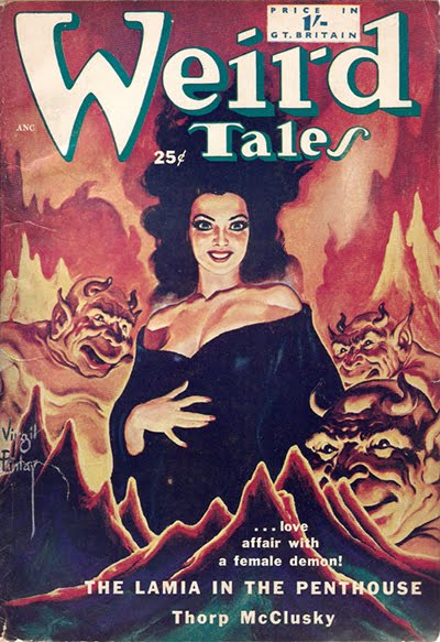 october 2010 tails magazine. pulp magazine WEIRD TALES,