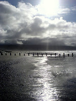 Barmouth beach, November
