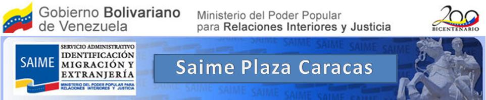 Saime Plaza Caracas