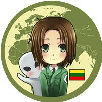 Anime Hetalia Lithuania
