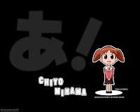 Azumanga Chiyo Chibi Wallpaper