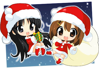 K-On Christmas Chibi