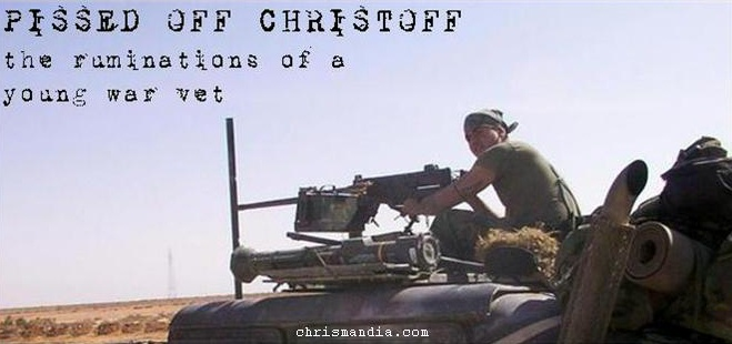 pissed off christoff