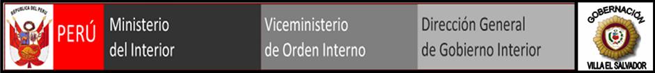 Gobernación de Villa el Salvador
