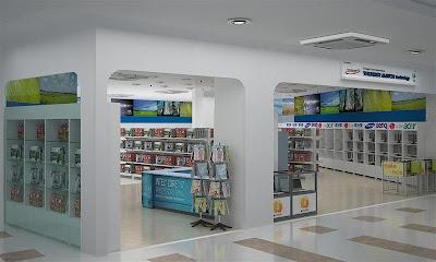 interior design & furniture: Computer Shop - Thunder Match