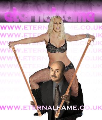 IMAGE:Britney Spears on Dr Phil Shoulders