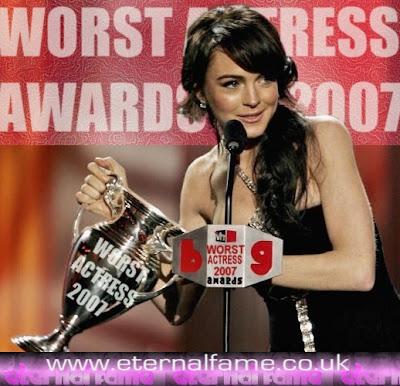 Image:Lindsay Lohan - Worst Actress 2007