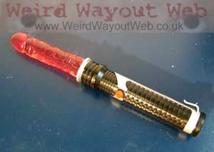 IMAGE: Laser Sword Dildo switched off