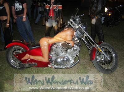 Sexy Lady Motorbike2