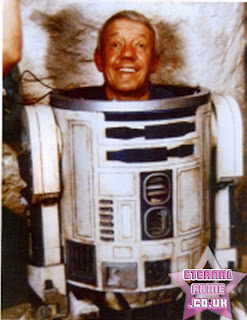 IMAGE: Actor Kenny Baker inside R2D2
