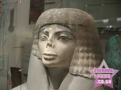 IMAGE: Ancient Egyptian Michael Jackson lookalike statue