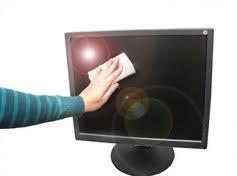 Como limpiar una pantalla LCD o un Notebook