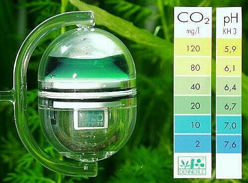 Acquaticos drop checker indicador de co2 for Impianto co2 acquario fai da te