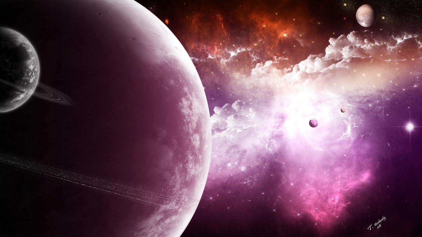 pink nebula galaxy space wallpaper - photo #36