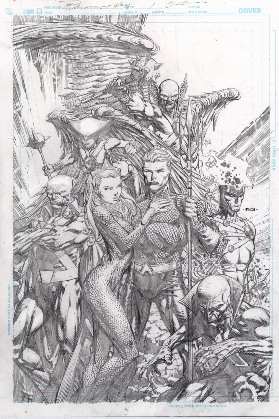 It's A Dan's World: ART ATTACK: David Finch's Pencils To ...