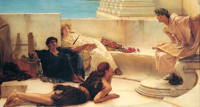 Λαική Σοφία A-Reading-from-Homer-1885