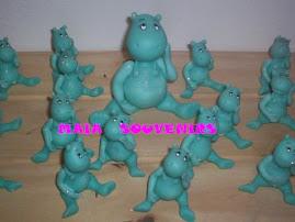 Hipopotamos bebés