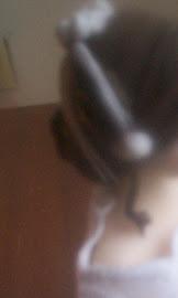 Peinado recogido con tiaras