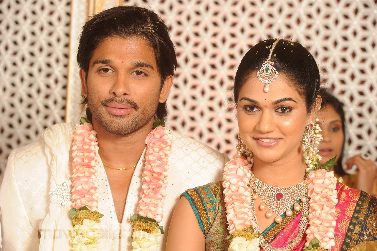 Celebrities News: Allu Arjun Engagement Stills