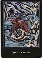 7 of Swords World Spirit Tarot
