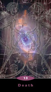 Death Quantum Tarot from Kunati by Kay Stopforth and Chris Butler