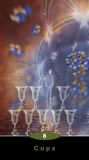 8 of Cups Quantum Tarot