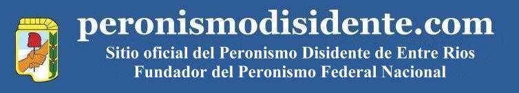 Sitio Oficial del Frente Popular Disidente de Entre Rios