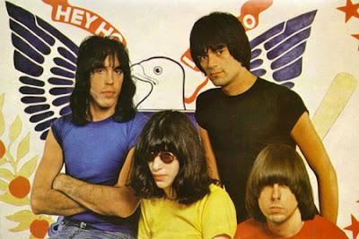 Ramones, Joey Ramone, Johnny Ramone, Dee Dee Ramone, Marky Ramone, Tommy Ramone, vintage, photo