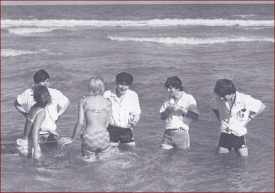 Beatles, Fab Four, Swimming, Miami Beach