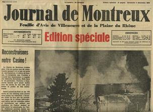 Montreux Casion Burns, Smoke On The Water